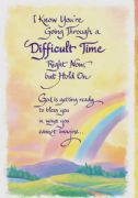 Going Through a Difficult TIme Card